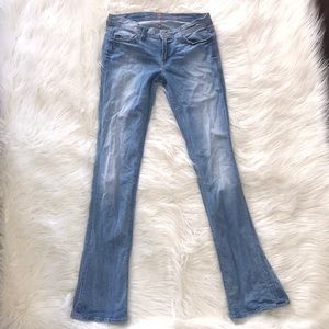 7 for all mankind swavorski crystal rocker jeans